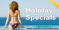 Holiday Discount Voucher Codes